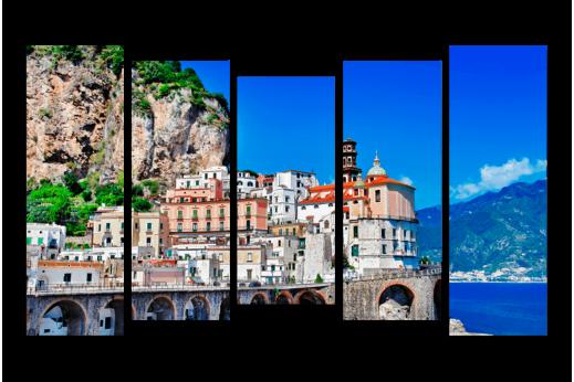 Модульная картина Где-то в Италии