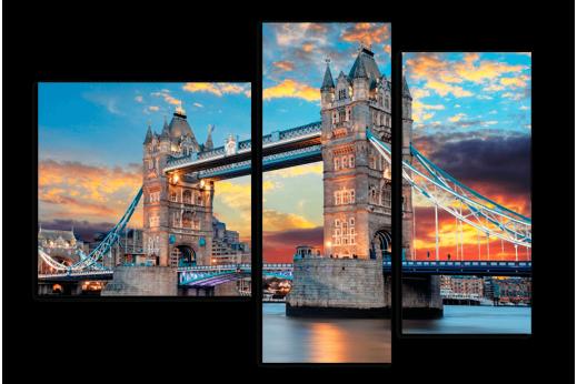 Модульная картина Лондонский Мост