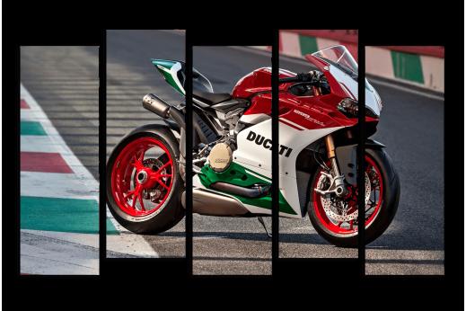 Модульная картина Мотоцикл DUCATI